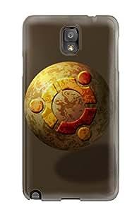 Cute Tpu Rose Plumley Ubuntu Case Cover For Galaxy Note 3