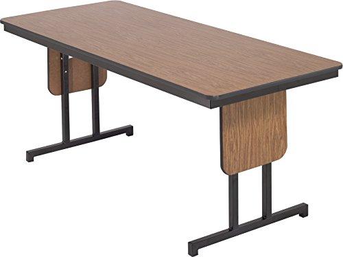 AmTab - LTP366 - Training Table, Plywood Core, Leg Panels, Rectangle, 36