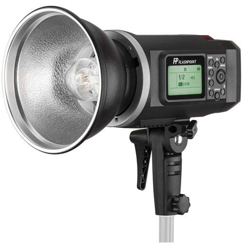 Flashpoint XPLOR 600 HSS R2 Battery-Powered Monolight Kit with C-Stand and EZ Lock 36'' OctaBox (Bowens Mount)