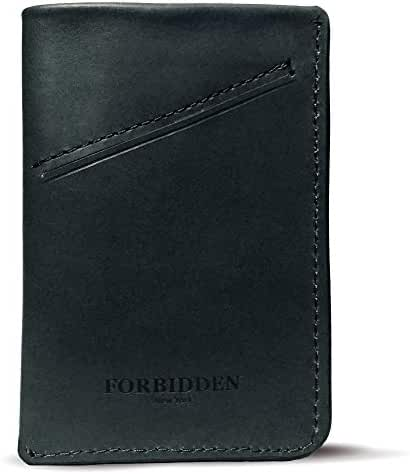 Forbidden Minimalist Slim front pocket leather Wallet