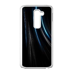 LG G2 Cell Phone Case White Colorful Stripes ewdg