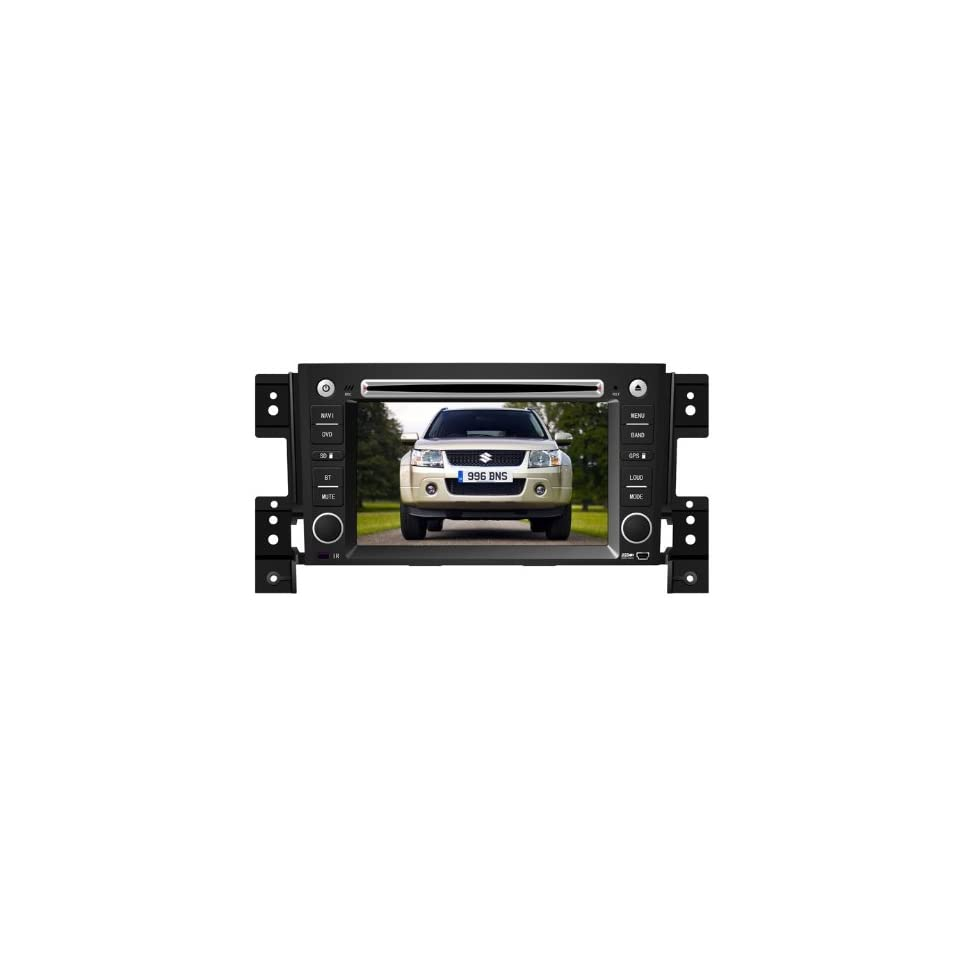 Eagle for 2006 2011 Suzuki Grand Vitara Car GPS Navigation DVD Player Audio Video System with Radio (AM/FM),Bluetooth Hands Free,USB, AUX Input,(free Map),Plug & Play Installation