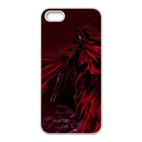 S2Q64 Vincent Valentine Final Fantasy P8G8DG coque iPhone 4 4s cellulaire cas de téléphone couvercle coque blanche IG2UGD3PJ