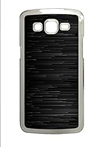 Samsung 2 7106 Case Abstract Black Graphite Lines4 PC Samsung 2 7106 Case Cover Transparent