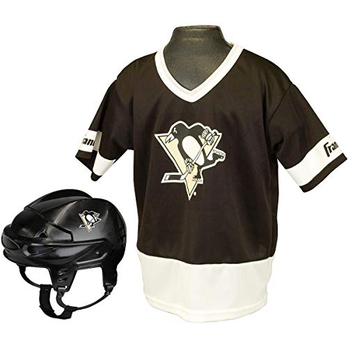 Franklin Sports NHL Pittsburgh Penguins Youth Team Uniform Set, Medium]()