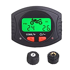 Product description: High accuracy - electronic pressure monitoring mode adopted,tire pressure accuracy up to ± 1PSI(0.1Bar) Tire pressure & tire temperature, one key switch -tire pressure & tire temperature switch with one key...