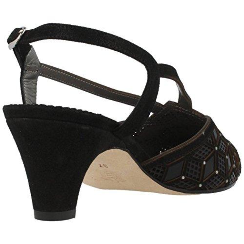 Sandalias y chanclas para mujer, color Negro , marca ARGENTA, modelo Sandalias Y Chanclas Para Mujer ARGENTA CHESTER Negro Negro
