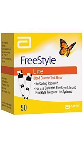 freestyle lite test strips how to use