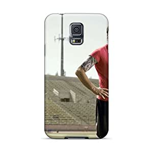 For Galaxy S5 Tpu Phone Case Cover(tom Brady Shirt Off)