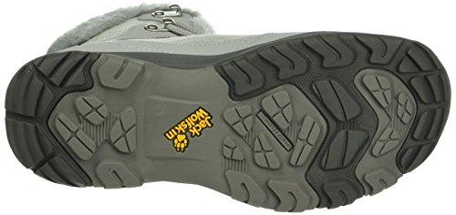 Noir Texapore W Gris Femme Chaussures Wolfskin de Thunder 6038 Mid Jack Randonnée Alloy Bay Hautes Pw4BqWF1