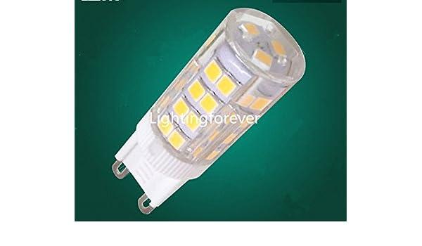 5PCS Cerámica de alta tensión 3.5W G4 LED llevado bombillas 220V ahorro de energía brillante estupenda blanca cálida lámpara de luz LED llevó la luz del ...