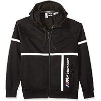 Puma BMW Motorsport Hooded Mens Sweat Jacket (Black)