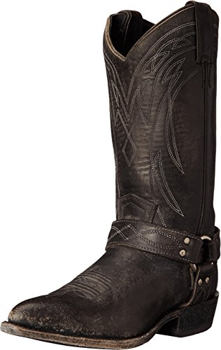FRYE Women's Billy Harness-SMSTO Western Boot,  Black, 7.5 M US