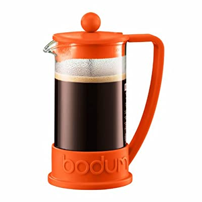 Bodum New Brazil 3-Cup French Press Coffee Maker, .35 l, 12-Ounce