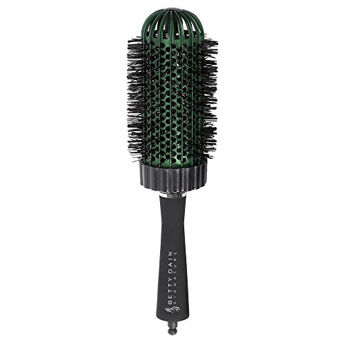 Betty Dain Dome Thermal Collection Round Barrel Brush with Detachable Sectioning Pick, Jumbo (2