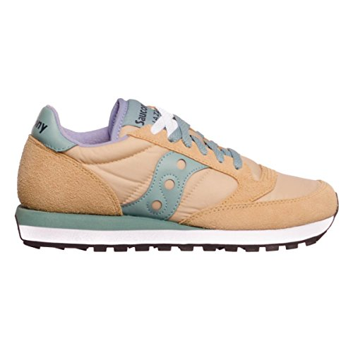 Nylon Saucony Sneaker and Jazz Beige Suede x0Iq0A