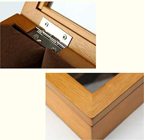 SBSNH ストレージボックス-10ビットウォッチボックスサンルーフウォッチディスプレイボックスストレージボックスジュエリーブレスレットボックス