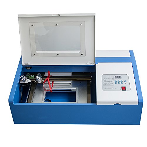 40W CO2 Laser Engraving Cutting Machine Engraver Cutter High Precise...