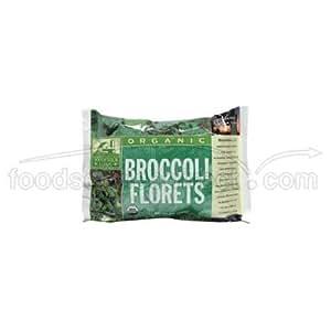 Woodstock Farms Organic Broccoli Floret, 10 Ounce -- 12 per case.