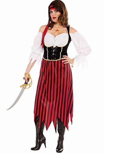 Amazon.com Forum Plus-Size Big Fun Pirate Maiden Costume Multi-Color Plus Size Clothing  sc 1 st  Amazon.com & Amazon.com: Forum Plus-Size Big Fun Pirate Maiden Costume Multi ...