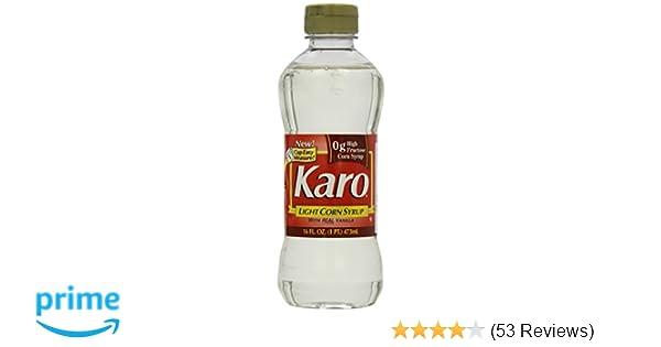 Amazon Com Karo Light Corn Syrup 16 Fl Oz Grocery Gourmet Food