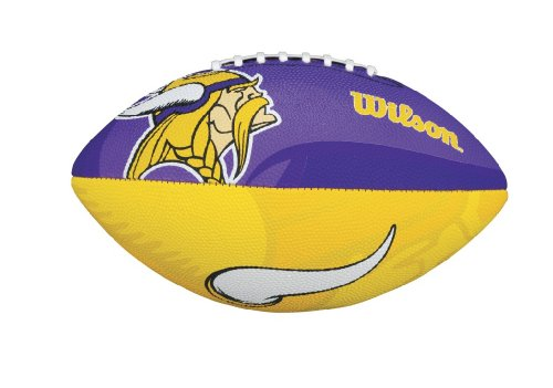 Wilson NFL Junior Team Logo Football (Minnesota Vikings) for $<!--$17.31-->