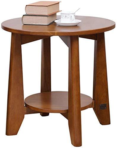 YZjk Wooden End Side Storage Nachttisch Sofa für Wohnzimmer, Schlafzimmer Kaffee Nachttisch (Farbe: Weiß)