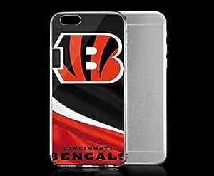 Light weight with strong PC plastic case for Iphone 6 Sports & Collegiate NFL Cincinnati Bengals Cincinnati Bengals