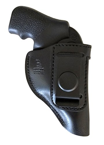 Full Grain Buffalo Tough Holster for Ruger LCR and many other similar size J Frame Revolvers - Ruger LCR | Smith and Wesson Body Guard | Charter | Taurus