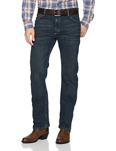 Wrangler Authentics Men's Classic Straight Leg Jean, Homestead Blue Flex, 36 X 32 ()