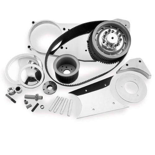 (Belt Drives Ltd. 3in. Open Primary Electric Start Belt Drive for Harley Davidso)