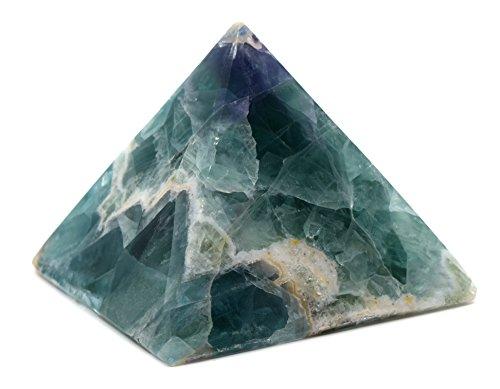 Brilliant Fluorite Pyramid, 4