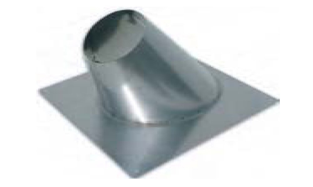 Noritz ARF5 Stainless Steel Angled Roof Flashing for 5-Inch Single Wall Venting