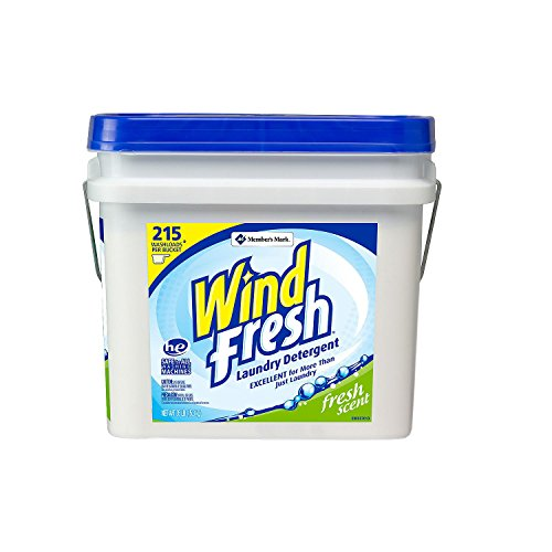 WindFresh Laundry Detergent Bucket - 32.5 lb. (Best Budget Laundry Detergent)