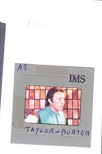 Slides photo of Close up of Welsh stage and cinema actor Richard Burton (Richard Burton Actor)