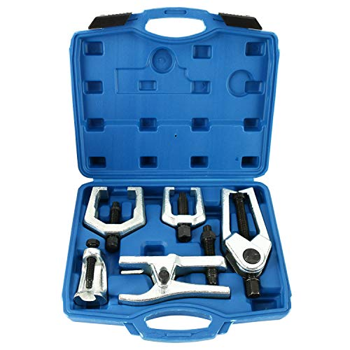 8milelake 6pc Front End Service Tool Kit Ball Joint Separator Pitman Arm Tie Rod Puller by 8MILELAKE (Image #6)