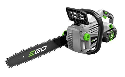 EGO Power+ 14-Inch 56-Volt Lithium-Ion Cordless Chain Saw – 2.0Ah