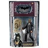 Batman Dark Knight Movie Master Exclusive Deluxe Action Figure Scarecrow with Cloth Mask