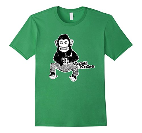 Mens MONKEY MAKE NOISE - 1970's Toy Banging Cymbals / Dru...