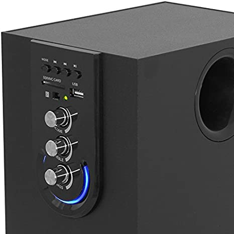 Amazon Com Frisby Fs 6200bt Bluetooth Wireless Speaker System With Wireless Remote Controller Computers Accessories