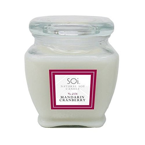 Soi Candles Mandarin Cranberry 16oz Jar Candle by The Soi Company