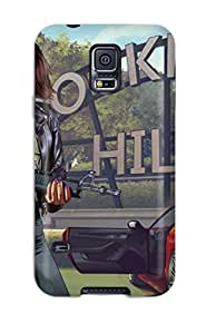 Tpu Shockproof/dirt-proof Grand Theft Auto V Cover Case For Galaxy(s5)