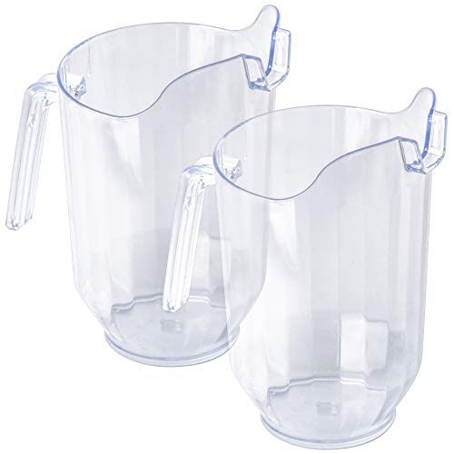 clear plastic water pitcher - 7