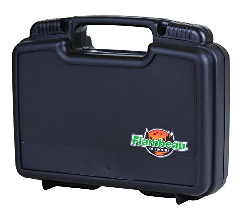 Best Review Of Flambeau Outdoors Safe Shot Pistol Pack Hard Gun Case, 10-Inch