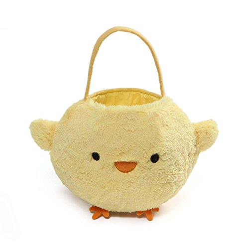 Happy Easter Chick (Gund Baby Chick Easter Basket Plush)