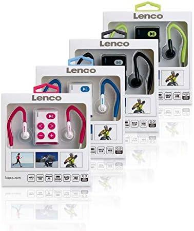 Reproductor MP3 Cal Lenco Xemio-154 Reproductor de MP3 Negro Reproductor de MP3, Micro USB 2.0, 60 g, Negro, Cal, Auriculares incluidos