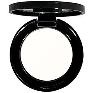 Matte EyeShadow Single- Hypoallergenic - Pressed Powder - High Pigment True Matte Finish - Use As Wet or Dry Eye shadow .06 oz. (White)