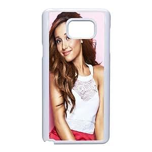 Ariana Grande_001 For Samsung Galaxy Note 5 Cell Phone Case White pu1m0h_7588912