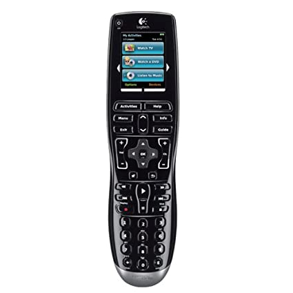amazon com logitech harmony one universal remote with color touch rh amazon com logitech harmony 650 infrared all in one remote control manual Logitech Harmony Universal Remote