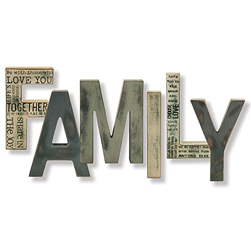 FAMILY Letters (Wooden Decor Words)